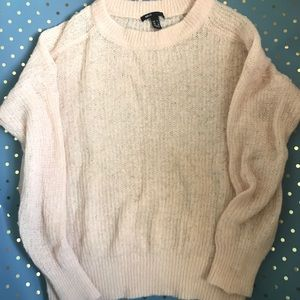 MNG by Mango Pink Crew Neck